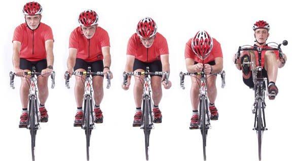 Ventajas de las bicicletas reclinadas