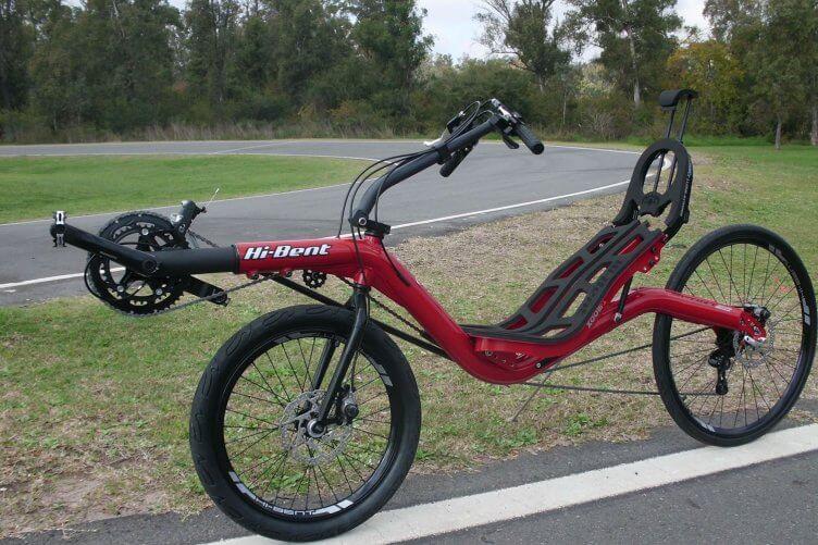 Bicicleta Reclinada Hi-Bent Sport2